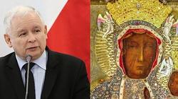 Jarosław Kaczyński spędził niedzielny wieczór wyborczy na Jasnej Górze - miniaturka