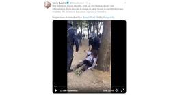 Protesty i zamieszki we Francji. Policja użyła gazu łzawiącego. ,,Zniszczyliście naszą demonstrację, jesteście idiotami!'' - miniaturka