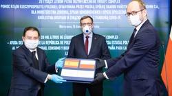 Polska wspiera Hiszpanię w walce z koronawirusem. Przekazano 20 tys. litrów płynu dezynfekcyjnego - miniaturka