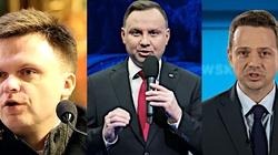 Sondaż: Będzie druga tura. Andrzej Duda wygrywa, Hołownia trudniejszym przeciwnikiem od Trzaskowskiego - miniaturka