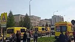 Horror w Rosji! Strzelanina w szkole w Kazaniu, wiele ofiar śmiertelnych - miniaturka