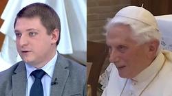 ,,To ogromny problem''. Chmielewski o rezygnacji Benedykta XVI  - miniaturka