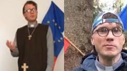 Gdzie jest prokurator: Spalił flagę Polski, teraz chwali się profanacją Mszę świętą - miniaturka