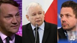 Kaczyński: Sikorski i Trzaskowski nie nadają się na prezydenta. Nie daj Panie Boże, żeby mieli wpływ na Polskę! - miniaturka