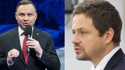 Sondaż: Andrzej Duda bezsprzecznym liderem, ale poparcie dla Trzaskowskiego rośnie - miniaturka