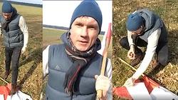Gdzie prokurator: Gejowski działacz podpalił i podeptał flagę Polski - miniaturka
