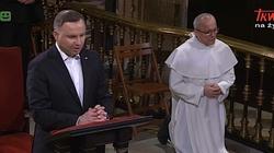 Prezydent modlił się za Polskę na Jasnej Górze - miniaturka