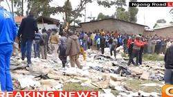 Dramat w Kenii. Strop szkoły zawalił się na uczniów. Pod gruzami może się znajdować ponad 10 osób - miniaturka
