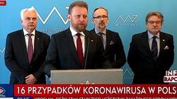Minister zdrowia: Już 16 przypadków koronawirusa. Przyrost w ciągu najbliższych dni będzie bardzo szybki - miniaturka