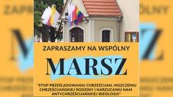 Tęczowa flaga i piknik przed kościołem. Jest reakcja parafian: Stop prześladowaniu chrześcijan! - miniaturka