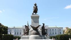 Wiadomo już, kto zdewastował pomnik Kościuszki w Warszawie - miniaturka