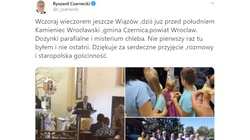 Ryszard Czarnecki przemawiał z ambony. Kuria upomni proboszcza - miniaturka