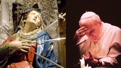 Dziś klękajmy przed Matką Boską Bolesną jak św. Jan Paweł II - miniaturka