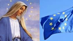 Tajemnica wyjawiona na łożu śmierci. Flaga UE to dar od Maryi! - miniaturka