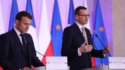 Premier Morawiecki odpowiada Macronowi: Polska broni prawdziwych wartości europejskich - miniaturka