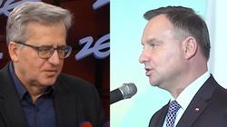 Komedia! Komorowski poucza Andrzeja Dudę: Nie szanuje siebie - miniaturka