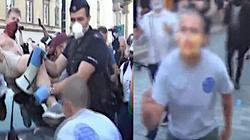 Szokująca agresja na protestach LGBT! Policja ujawnia nagrania - miniaturka
