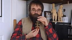 Andrzej Pilipiuk: historia karawaki - krzyża przeciw epidemii - miniaturka