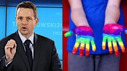 TYLKO U NAS! Grzegorz Strzemecki: Rafał Trzaskowski = molestująca seksualnie ,,edukacja'' w całej Polsce - miniaturka