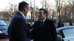 Premier Morawiecki o wizycie Macrona: Przełomowa - miniaturka
