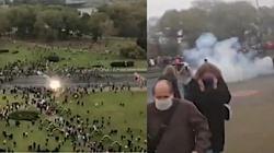 Białorusini się nie poddają! Kolejne protesty, milicja użyła granatów hukowych - miniaturka