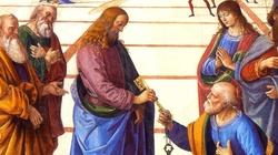 Ty jesteś Piotr, czyli Opoka, i na tej opoce zbuduję Kościół mój - miniaturka