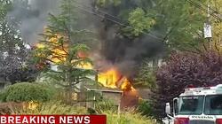 USA: Samolot spadł na dom Polaków! - miniaturka