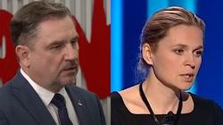 Piotr Duda ostro o słowach Nowackiej: Mam nadzieję, że została w pani resztka przyzwoitości... - miniaturka