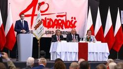 Premier Morawiecki: ,,Solidarność'' to drugie imię Polski - miniaturka