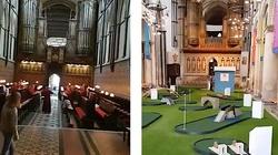 Szokujące: Pole golfowe w angielskiej katedrze. Europo, obudź się!!! - miniaturka