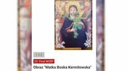 Profanacja wizerunku Matki Boskiej na aukcji dla WOŚP. Wiceminister zawiadamia prokuraturę - miniaturka