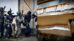 Cela plus: CBŚP zlikwidowało fabrykę ,,lewych'' papierosów. Aresztowano 8 osób - miniaturka