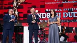 Prezydent Andrzej Duda uhonorowany Nagrodą Prometejską im. Prezydenta Lecha Kaczyńskiego - miniaturka
