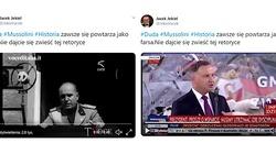 Andrzej Duda jak Mussolini? Skandaliczny wpis dyrektora opery w Szczecinie. Straci stanowisko? - miniaturka