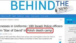 W Izraelu znowu piszą o ,,polskim obozie śmierci''. Jest reakcja ambasady - miniaturka