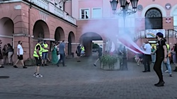Iława: Pseudokibice rozbili manifestację LGBT - miniaturka