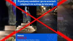 Tego już za wiele!!! Tęczowi profanują pomniki św. Jana Pawła II - miniaturka