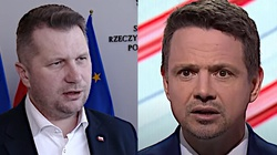 ,,To kłamstwo!''. Minister Czarnek ostro odpowiada Trzaskowskiemu - miniaturka