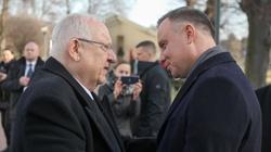 Prezydent Izraela zaprosił Andrzeja Dudę do Jerozolimy. ,,Chcielibyśmy podać dziś rękę narodowi polskiemu'' - miniaturka