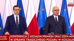 Tragedia w Koszalinie. Premier na konferencji prasowej: Są zamykane pierwsze ,,escape roomy'' - miniaturka