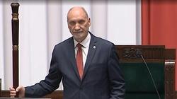 Antoni Macierewicz zainaugurował pierwsze posiedzenie Sejmu IX kadencji - miniaturka