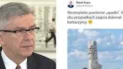 Skandaliczny wpis posła PO nt. Westerplatte. Stanisław Karczewski: Czuję się obrażony. Liczę, że przeprosi - miniaturka