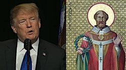 Prezydent Trump oddaje hołd św. Tomaszowi Becketowi, męczennikowi wolności religijnej - miniaturka