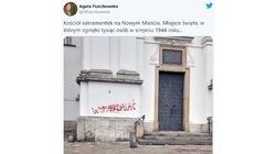 Warszawa: Lewacy sprofanowali kościół, w którym w trakcie Powstania zginęło tysiąc osób!  - miniaturka