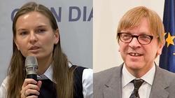 Kozłowska znów na terenie Unii Europejskiej! Do Brukseli zaprosił ją... Verhofstadt - miniaturka