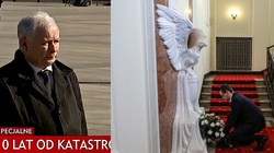 Politycy składają hołd ofiarom katastrofy smoleńskiej - miniaturka