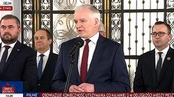 Jarosław Gowin podał się do dymisji. Porozumienie pozostaje częścią Zjednoczonej Prawicy - miniaturka