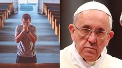 Katolicy piszą do papieża Franciszka: Nie chcą zmian w ,,Ojcze Nasz'' - miniaturka