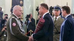 Prezydent Duda wręczył nominacje generalskie czterem oficerom Wojska Polskiego - miniaturka