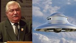 ,,Ja mam swoje UFO, mój punkt widzenia''. Wałęsa coraz bardziej dziwaczy! - miniaturka